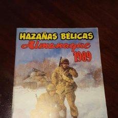 Tebeos: HAZAÑAS BELICAS - ALMANAQUE 1989 G4 EDICIONES BOIXCAR EN PERFECTO ESTADO.. Lote 132138250