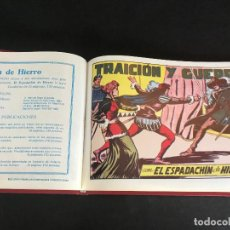 Tebeos: EL ESPADCHÍN DE HIERRO. FACSÍMIL. COMPLETA. 9 EJEMPLARES.. Lote 134025282