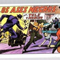 Tebeos: LOS ASES NEGROS CON TELE Y MONCHO. REEDICION. Lote 134393079