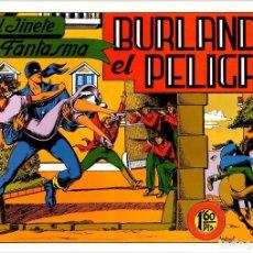 Tebeos: BURLANDO EL PELIGRO. EL JINETE FANTASMA. Nº 8. AÑO 1981. REEDICION. Lote 134393494