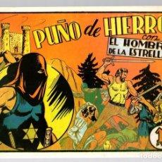 Tebeos: PUÑO DE HIERRO CON EL HOMBRE DE LA ESTRELLA. Nº 2. REEDICION. Lote 134395358