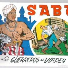 Tebeos: SABU. LOS GUERREROS DEL VIRREY. REEDICION. Lote 134395506
