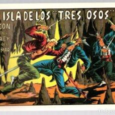 Tebeos: LA ISLA DE LOS TRES OSOS CON EL REY DEL MAR. Nº 14. REEDICION. Lote 134395621