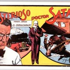 Tebeos: EL MISTERIOSO DOCTOR SATAN. PRIMERA JORNADA. EL ENMASCARADO. REEDICION. Lote 134395979