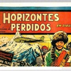 Tebeos: HORIZONTES PERDIDOS EN DIBUJOS. ILUSTRACIONES DE J. BLASCO. REEDICION. Lote 134396127