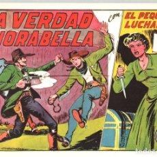Tebeos: LA VERDAD DE NORABELLA CON EL PEQUEÑO LUCHADOR. Nº 161. REEDICION. Lote 134761366