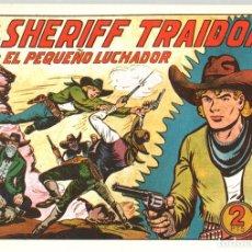 Tebeos: EL SHERIFF TRAIDOR CON EL PEQUEÑO LUCHADOR. Nº 164. REEDICION. Lote 134764781