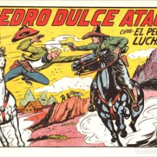 Tebeos: PEDRO DULCE ATACA CON EL PEQUEÑO LUCHADOR. Nº 157. REEDICION. Lote 134765797