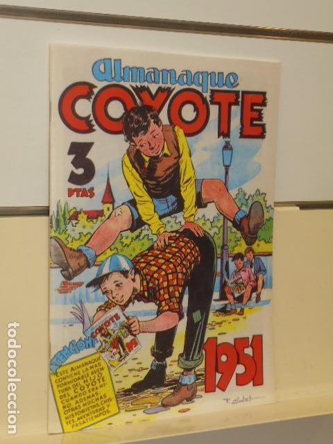 ALMANAQUE COYOTE 1951 - EDICIONES CLIPER - REEDICION JC (Tebeos y Comics - Tebeos Reediciones)