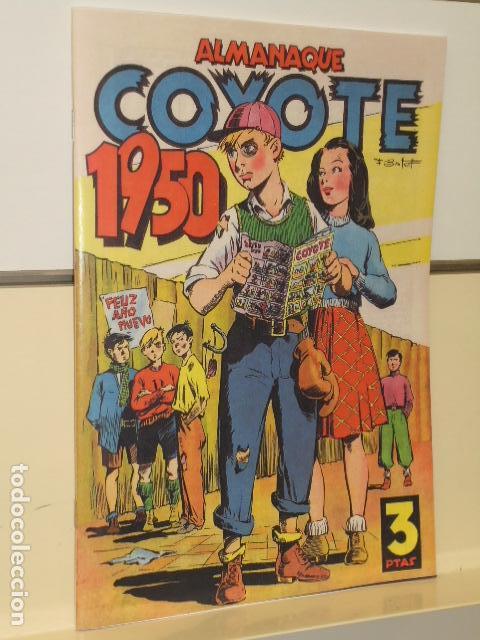 ALMANAQUE COYOTE 1950 - EDICIONES CLIPER - REEDICION JC (Tebeos y Comics - Tebeos Reediciones)