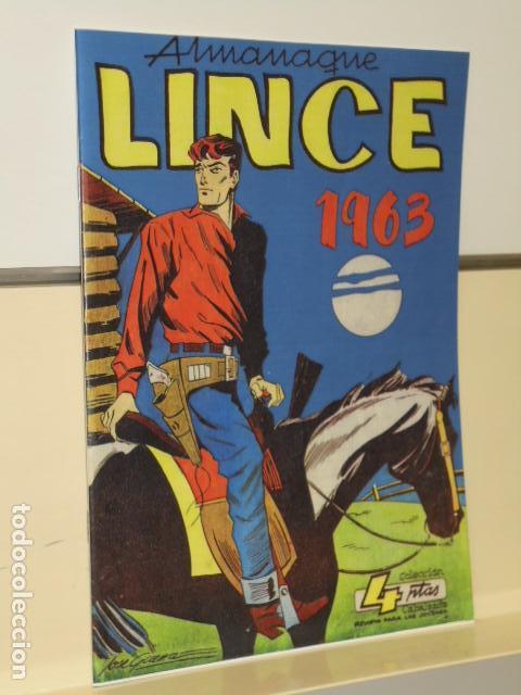ALMANAQUE LINCE 1963- COLECCION CABALGADA - REEDICION (Tebeos y Comics - Tebeos Reediciones)