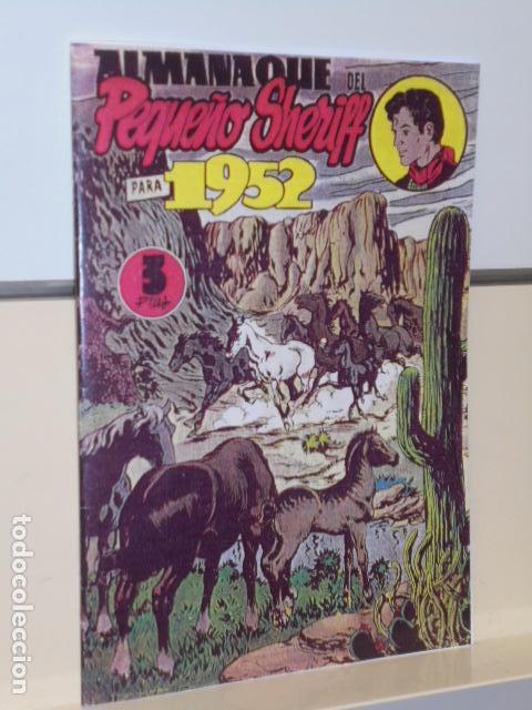ALMANAQUE DEL PEQUEÑO SHERIFF 1952 - MAGA - REEDICION (Tebeos y Comics - Tebeos Reediciones)