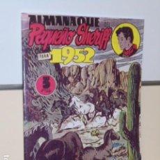 Tebeos: ALMANAQUE DEL PEQUEÑO SHERIFF 1952 - MAGA - REEDICION. Lote 218587943