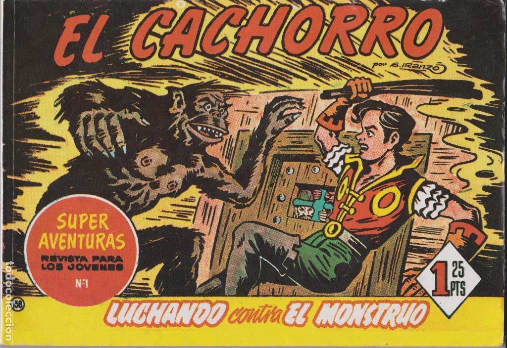 EL CACHORRO VOL.120 LUCHANDO CONTRA EL MONSTRUO (Tebeos y Comics - Tebeos Reediciones)