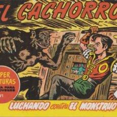 Tebeos: EL CACHORRO VOL.120 LUCHANDO CONTRA EL MONSTRUO. Lote 135580942