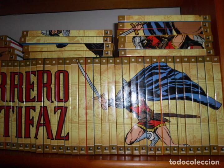 Tebeos: Colección completa del Guerrero del antifaz con 64 tomos - Foto 2 - 137361098
