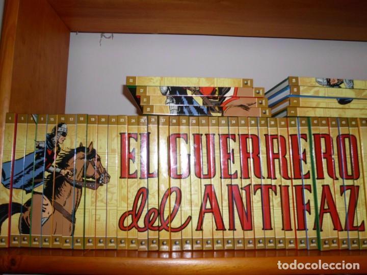 Tebeos: Colección completa del Guerrero del antifaz con 64 tomos - Foto 3 - 137361098