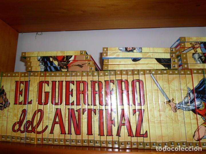Tebeos: Colección completa del Guerrero del antifaz con 64 tomos - Foto 5 - 137361098