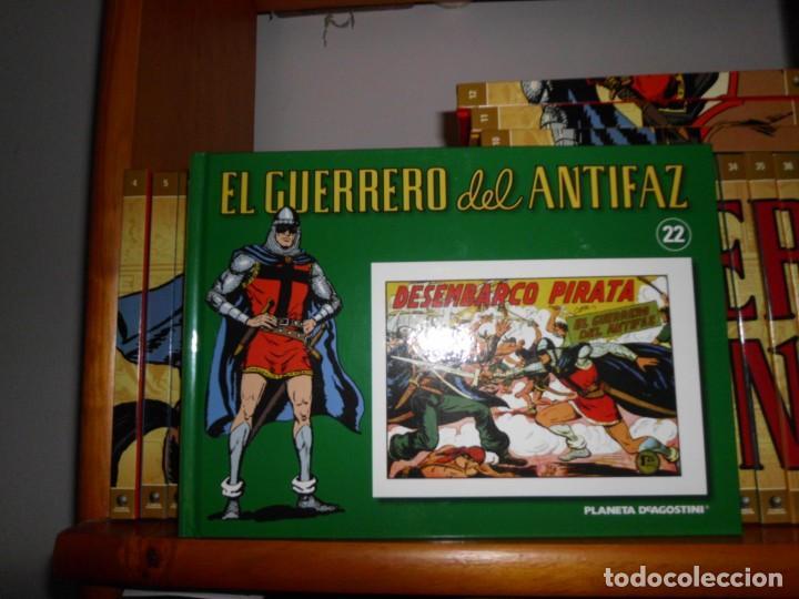 Tebeos: Colección completa del Guerrero del antifaz con 64 tomos - Foto 7 - 137361098