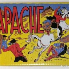 Tebeos: APACHE - 1ª SERIE COMPLETA 56 NÚMEROS REEDICIÓN EN ESTUCHE Y CAJA. Lote 137666038