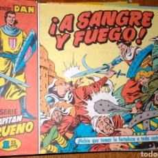 Tebeos: EL CAPITAN TRUENO COLECCION DAN DEL 1 AL 330 EXCELENTE ESTADO EDITADO EN 1991. Lote 139239774