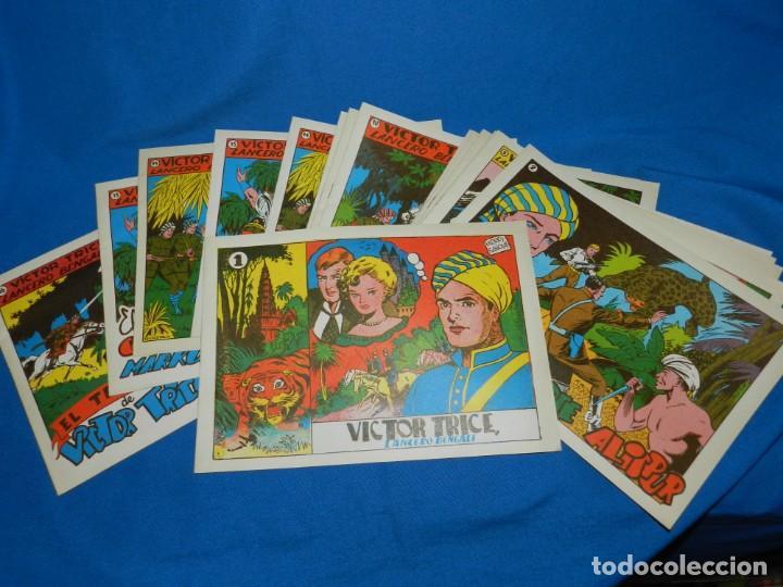 (M) VICTOR TRICE LANCERO BANGALI , COMPLETA , REEDICION , 16 NUMEROS , BUEN ESTADO (Tebeos y Comics - Tebeos Reediciones)
