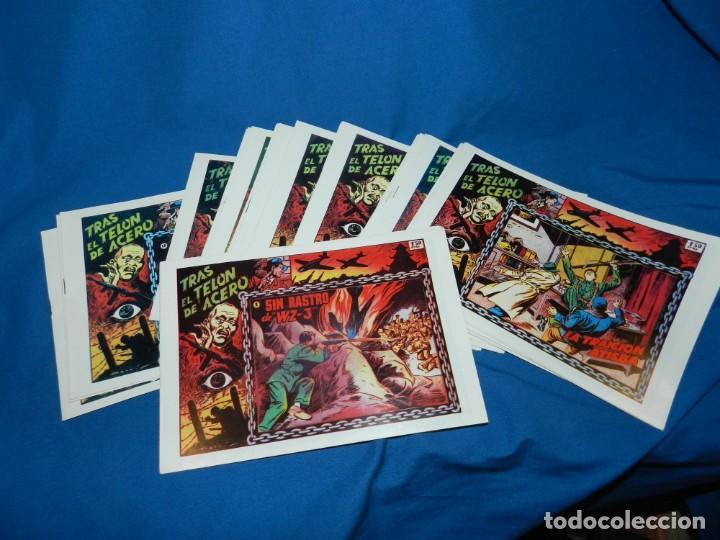 (M) TRAS EL TELON DE ACERO , COMPLETA , REEDICION, 20 NUMEROS , MUY BUEN ESTADO (Tebeos y Comics - Tebeos Reediciones)