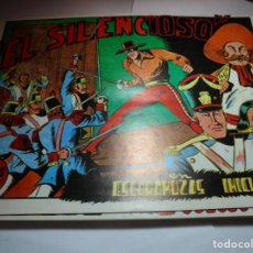 Tebeos: MAGNIFICA REEDICION COMPLETA DE 15 NUMEROS,EL SILENCIOSO . Lote 140363974