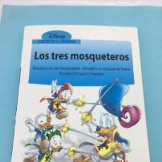 Tebeos: DONALD Y LOS TRES MOSQUETEROS - BIBLIOTECA EL MUNDO Nº 1 - UNIDAD EDITORIAL S.A. 2008. Lote 141250858
