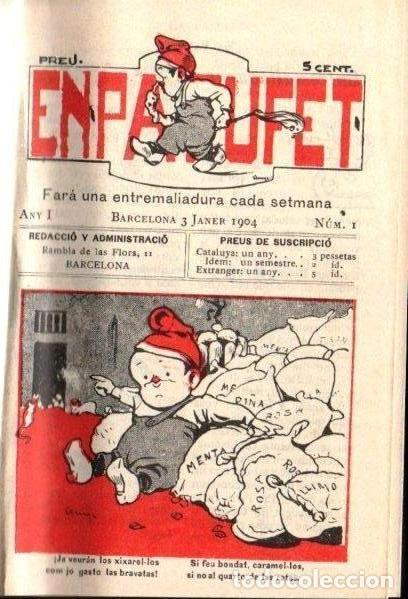 Tebeos: EL PATUFET AÑO I 1904 - 52 NÚMEROS + CALENDARI (1978) - Foto 2 - 142983066