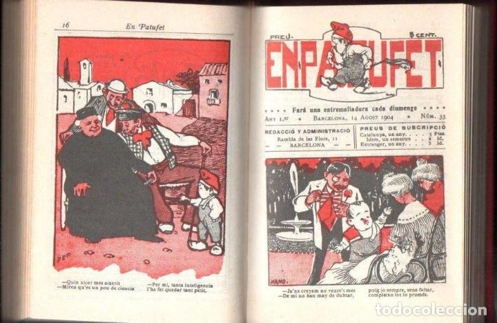 Tebeos: EL PATUFET AÑO I 1904 - 52 NÚMEROS + CALENDARI (1978) - Foto 3 - 142983066