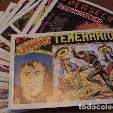 Tebeos: EL CHARRO TEMERARIO, COMPLETA REEDICIÓN FACSÍMIL 44 EJEMPLARES. Lote 143435554