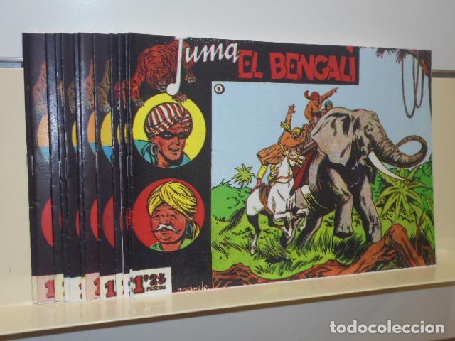 JUMA EL BENGALI COMPLETA 12 NUM. REEDICION (Tebeos y Comics - Tebeos Reediciones)