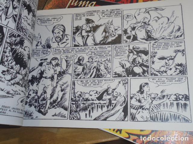 Tebeos: JUMA EL BENGALI COMPLETA 12 NUM. REEDICION - Foto 2 - 218588002