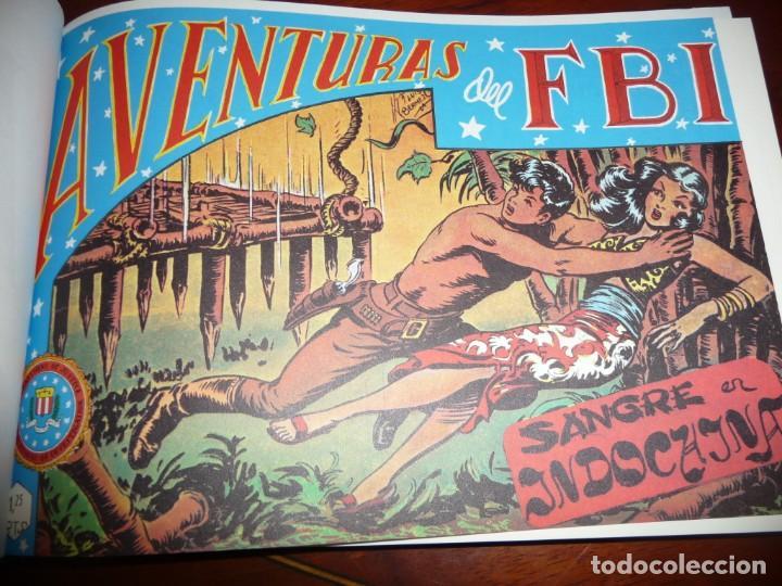 AVENTURAS DEL FBI - FACSIMILES- TOMOS 2-4 Y 9, CARTON. ESTUDIO EDICIONES COMICS. 1981,25 NUM TOMO (Tebeos y Comics - Tebeos Reediciones)