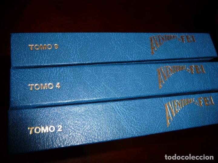 Tebeos: AVENTURAS DEL FBI - FACSIMILES- TOMOS 2-4 Y 9, CARTON. ESTUDIO EDICIONES COMICS. 1981,25 NUM TOMO - Foto 3 - 144884686
