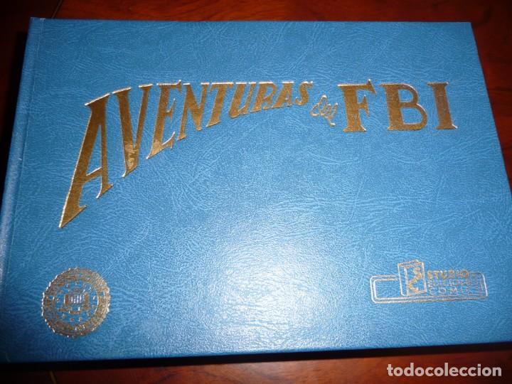 Tebeos: AVENTURAS DEL FBI - FACSIMILES- TOMOS 2-4 Y 9, CARTON. ESTUDIO EDICIONES COMICS. 1981,25 NUM TOMO - Foto 4 - 144884686