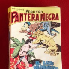 Giornalini: PEQUEÑO PANTERA NEGRA .-LOTE DE 34 EJEMPLARES DEL 55 AL 88 CORRELATIVOS MAGA 1980.. Lote 145307970