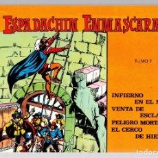 Tebeos: EL ESPADACHIN ENMASCARADO. TOMO 7. REEDICION. COMPRENDE LOS NUM. 25 AL 28. Lote 147327205