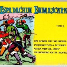 Tebeos: EL ESPADACHIN ENMASCARADO. TOMO 8. REEDICION. COMPRENDE LOS NUM. 29 AL 32. Lote 147327352