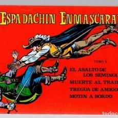 Tebeos: EL ESPADACHIN ENMASCARADO. TOMO 9. REEDICION. COMPRENDE LOS NUM. 33 AL 36. Lote 147327856