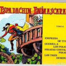 Tebeos: EL ESPADACHIN ENMASCARADO. TOMO 6. REEDICION. COMPRENDE LOS NUM. 21 AL 24. Lote 147331528
