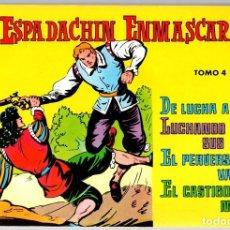 Tebeos: EL ESPADACHIN ENMASCARADO. TOMO 4. REEDICION. COMPRENDE LOS NUM. 13 AL 16. Lote 147331684