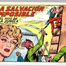 Tebeos: EL HIJO DE LA JUNGLA. LA SALVACION IMPOSIBLE. REEDICION. EDICIONES JLA, 1986. Lote 147333742