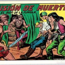 Tebeos: EL HIJO DE LA JUNGLA. MISION DE MUERTE. Nº 3. REEDICION. EDICIONES JLA, 1986. Lote 147333984
