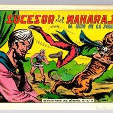 Tebeos: EL HIJO DE LA JUNGLA. EL SUCESOR DEL MAHARAJA. Nº 6. REEDICION. EDICIONES JLA, 1986. Lote 147334477