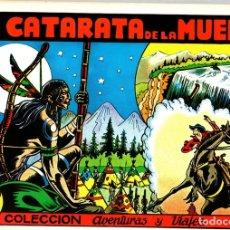 Tebeos: LA CATARATA DE LA MUERTE. Nº 6. COLECCION AVENTURAS Y VIAJES. IRANZO. REEDICION. Lote 147335766
