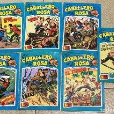 Tebeos: EL CABALLERO DE LA ROSA. COMPLETA. 7 NUMEROS. EDICIONES B.O. 1982. Lote 147461081