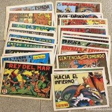 Tebeos: EL REY DEL MAR. COMPLETA. 46 NUMEROS. REEDICION. Lote 147467349