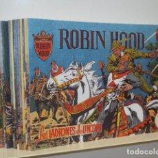 Tebeos: ROBIN HOOD COMPLETA 21 NUM. REEDICION. Lote 147514750